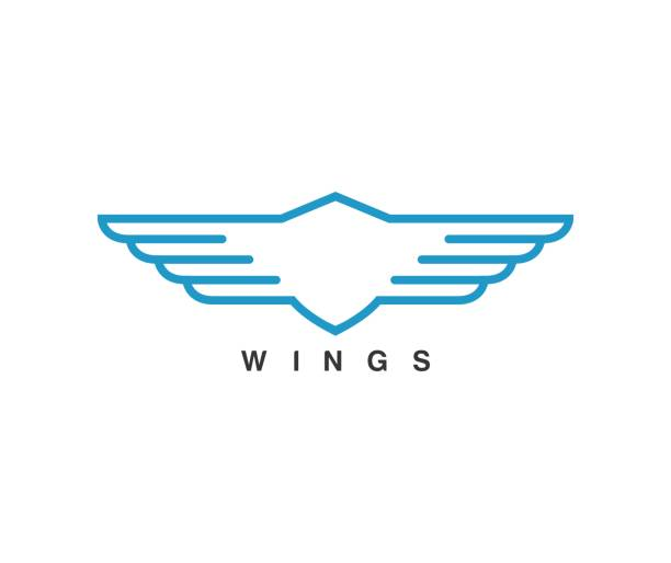 Royalty Free Car Logo With Wings Clip Art Vector Images