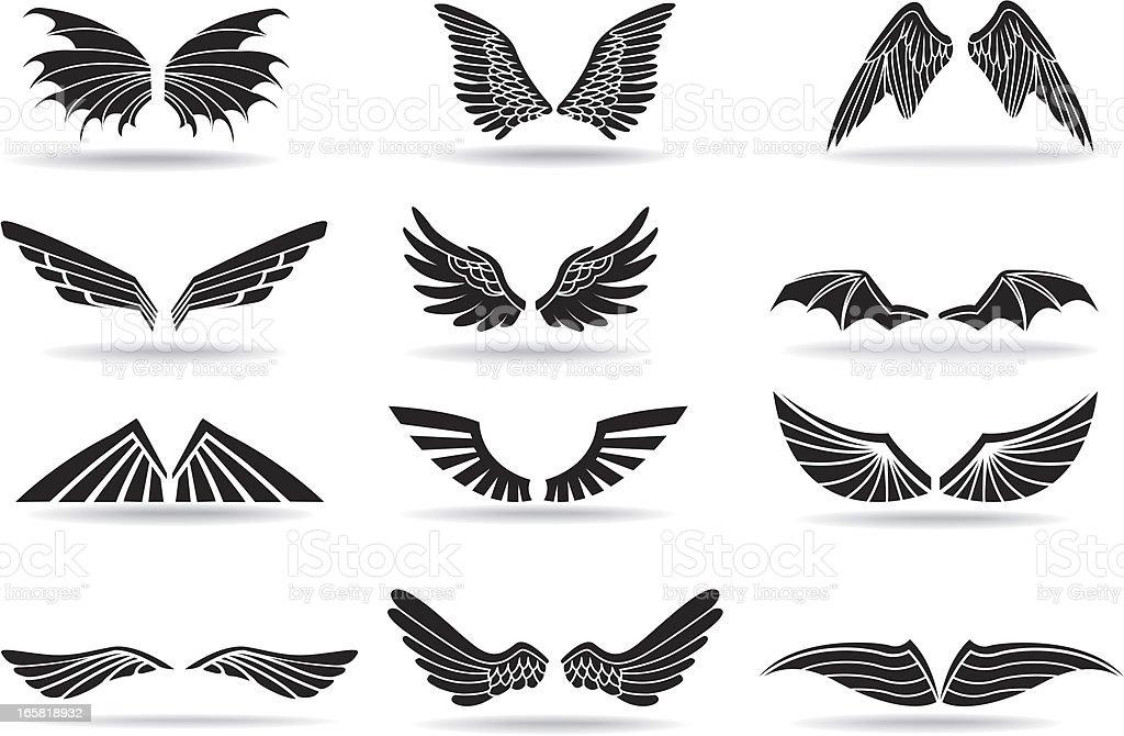 Ailes de poulet - Illustration vectorielle