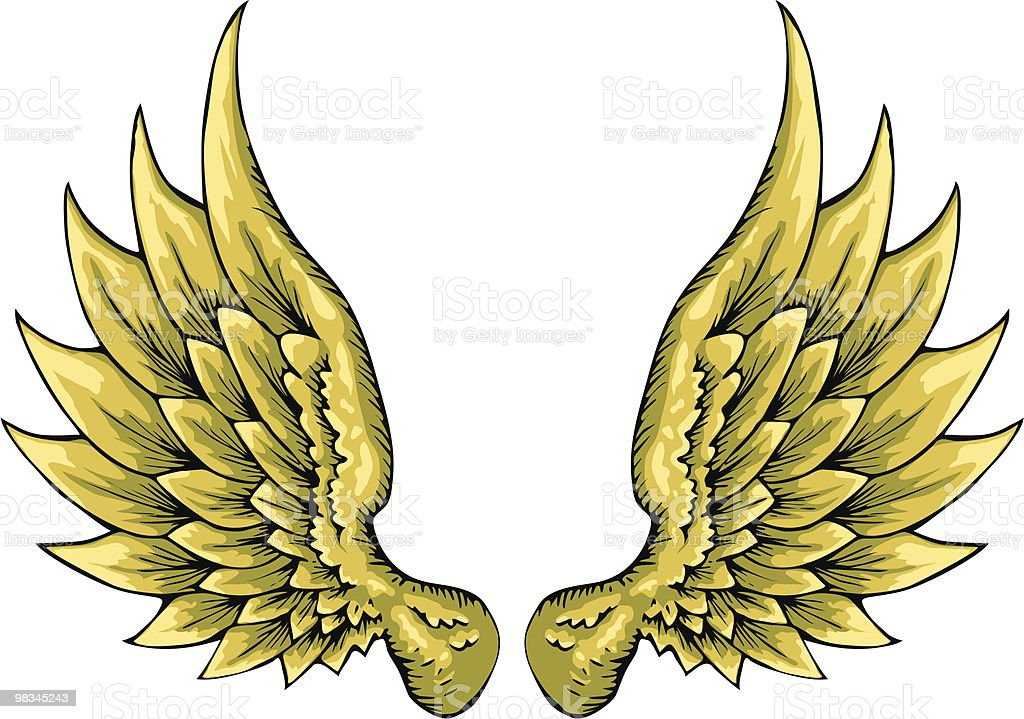 Wings royalty-free wings stock vector art & more images of animal body part