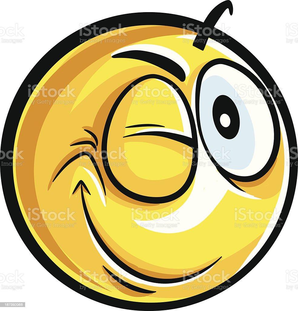 Faire Un Clin Doeil Smiley Vecteurs Libres De Droits Et Plus D Images Vectorielles De Brillant Istock