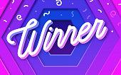istock Winner Celebration Background 1340525629