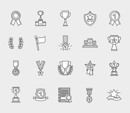 Winner icon bundle