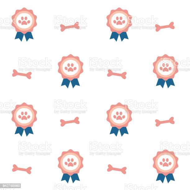 Winner pets badge seamless vector pattern background illustration vector id942765560?b=1&k=6&m=942765560&s=612x612&h=gfwqq8zae0lrjjgkjmuiyl3orqwwp3zskjjkpapsccg=