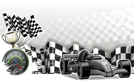 winning racecar