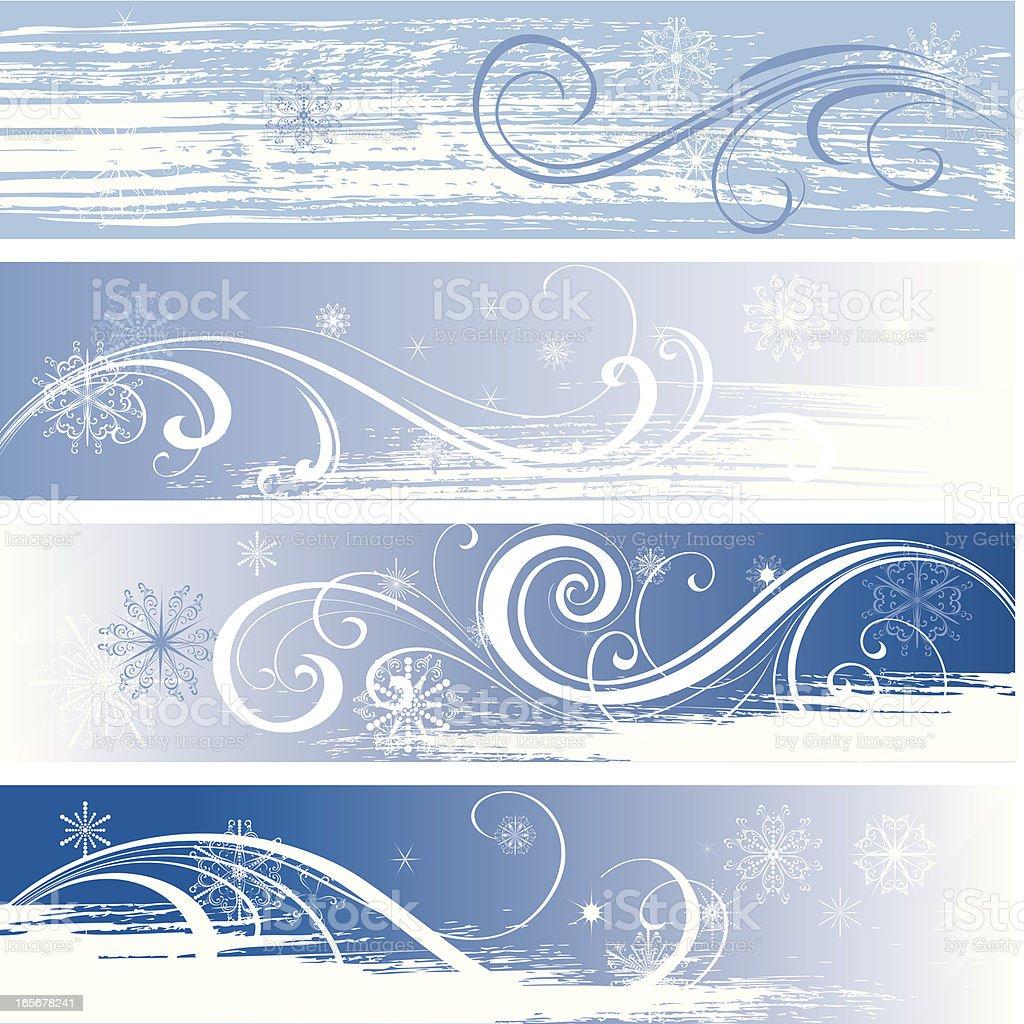 Winter backgraund royalty-free stock vector art
