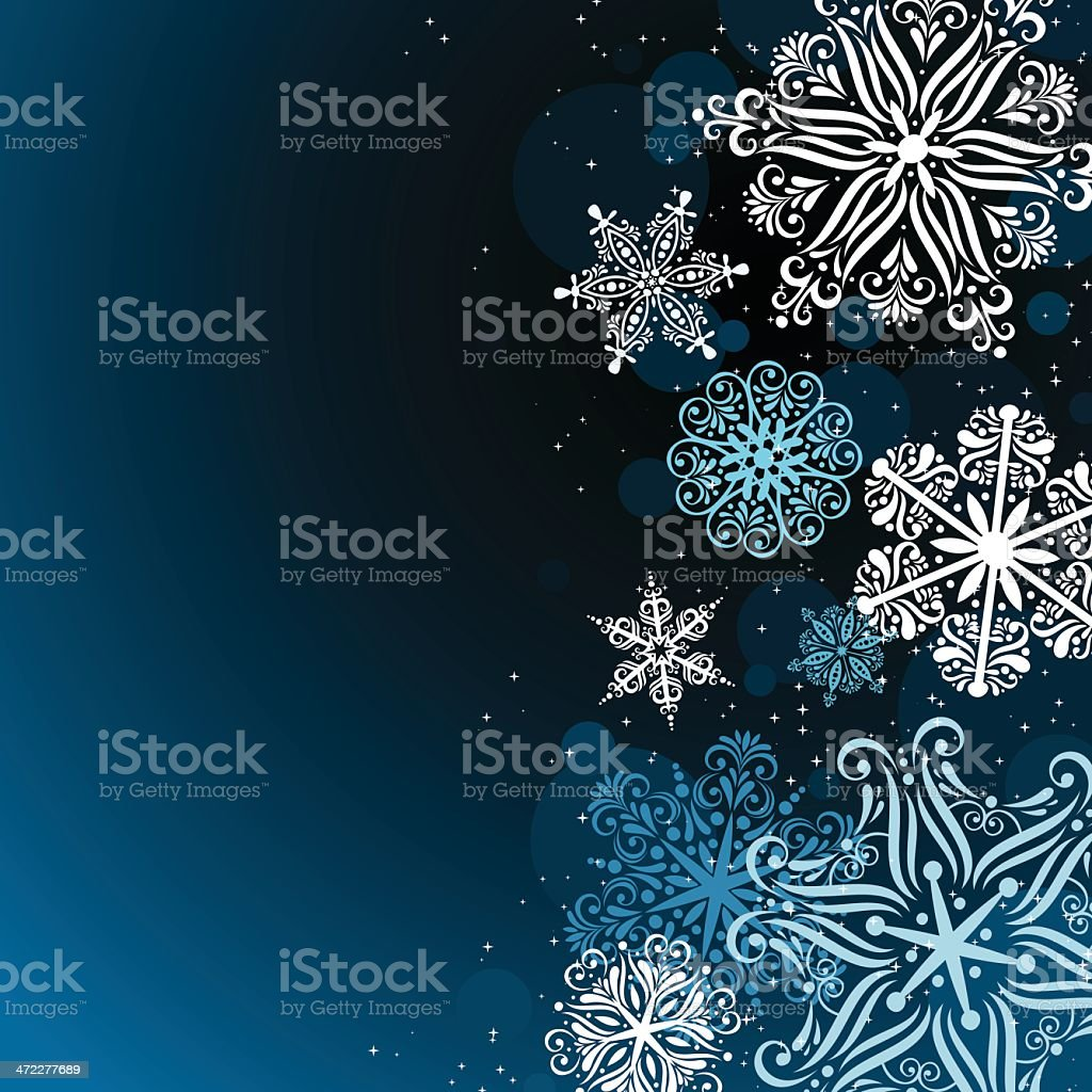 Winter background. EPS8 royalty-free stock vector art