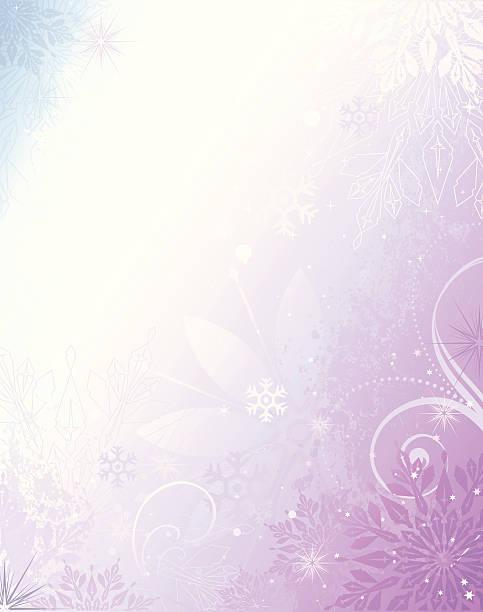 Winter-Hintergrund – Vektorgrafik