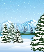 Beautiful Winter Background.Please see some similar pictures from my portfolio: