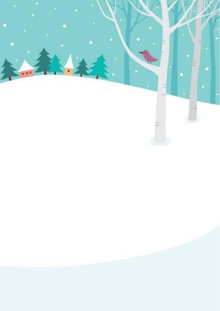 冬の背景 - 冬点のイラスト素材/クリップアート素材/マンガ素材/アイコン素材