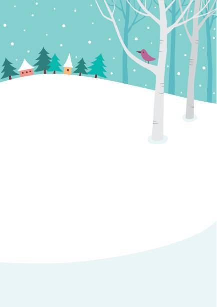 winter background - winter stock illustrations, clip art, cartoons, & icons