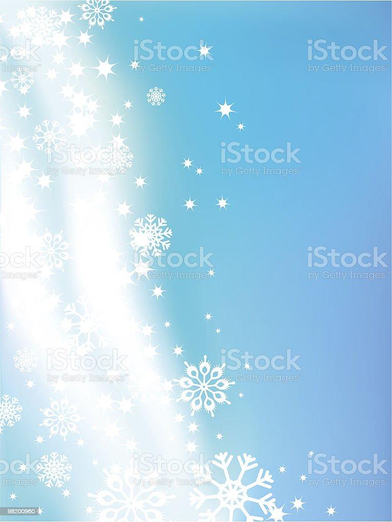 Sfondo di inverno sfondo di inverno - immagini vettoriali stock e altre immagini di a forma di stella royalty-free