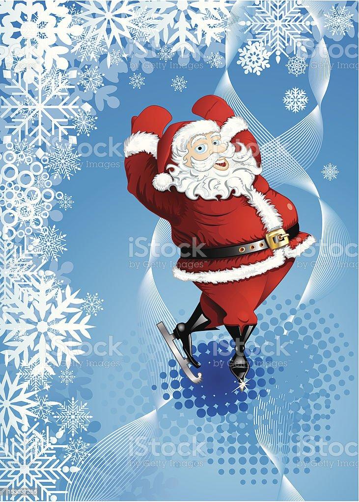 Sfondi Babbo Natale.Sfondo Invernale Con Pista Di Babbo Natale Immagini Vettoriali Stock E Altre Immagini Di Astratto Istock