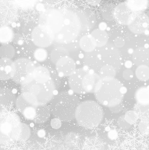 冬の背景に雪、雪の結晶 - 雪点のイラスト素材/クリップアート素材/マンガ素材/アイコン素材