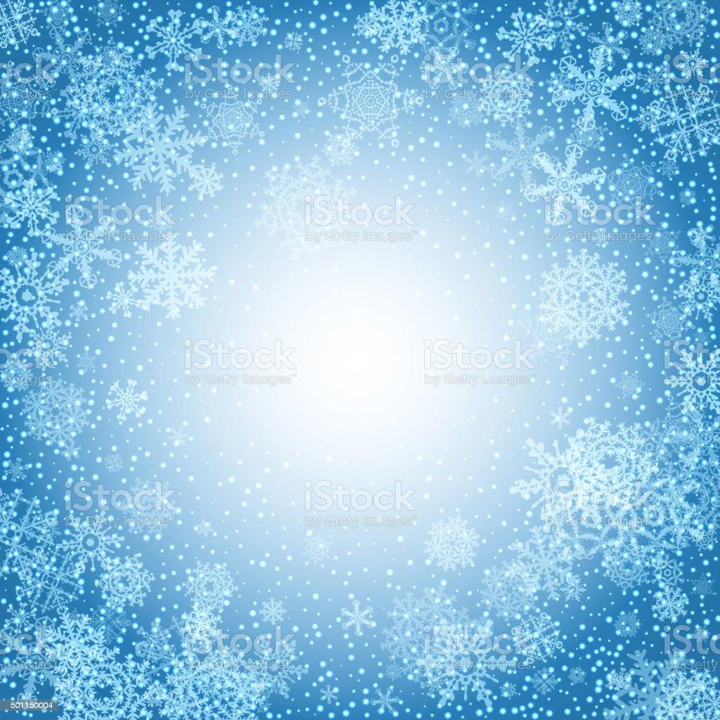 冬の背景に雪雪のクリスマスバナーベクター のイラスト素材 501150004