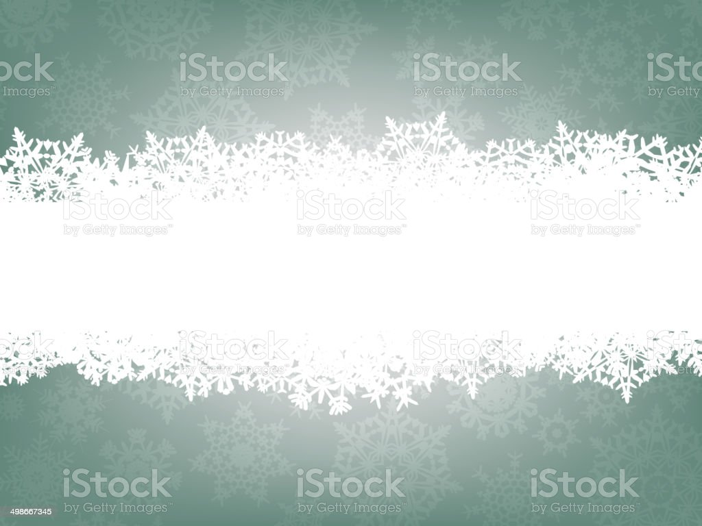 Winter background with snowflakes. EPS 8 royalty-free stock vector art