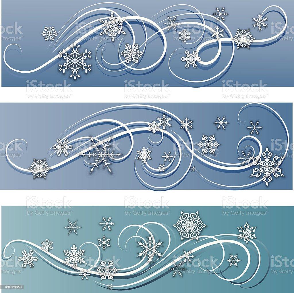 Winter banner royalty-free stock vector art