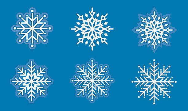 Winter Bliss vector art illustration