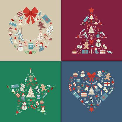 Winter Christmas Holiday Prints