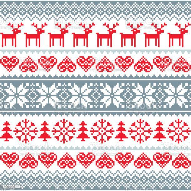 Winter christmas red and grey seamless pattern nordic background with vector id692902198?b=1&k=6&m=692902198&s=612x612&h=avh4eophltcnunyohcx2cvzcugz292vibwtpvj6z9mu=