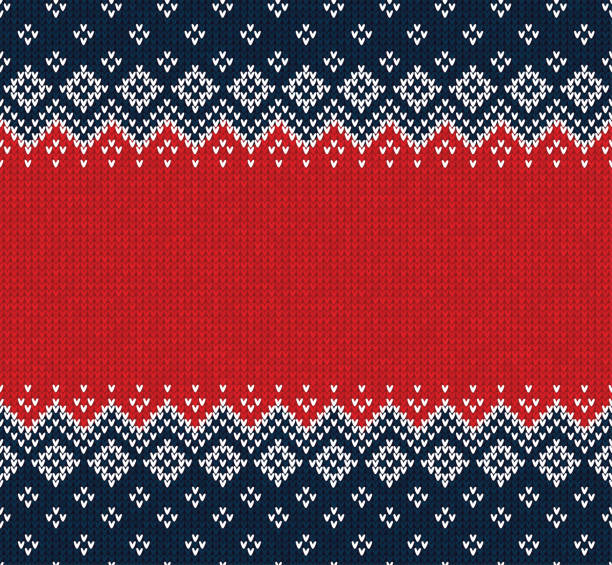 Christmas Sweater Background.Best Ugly Sweater Background Illustrations Royalty Free