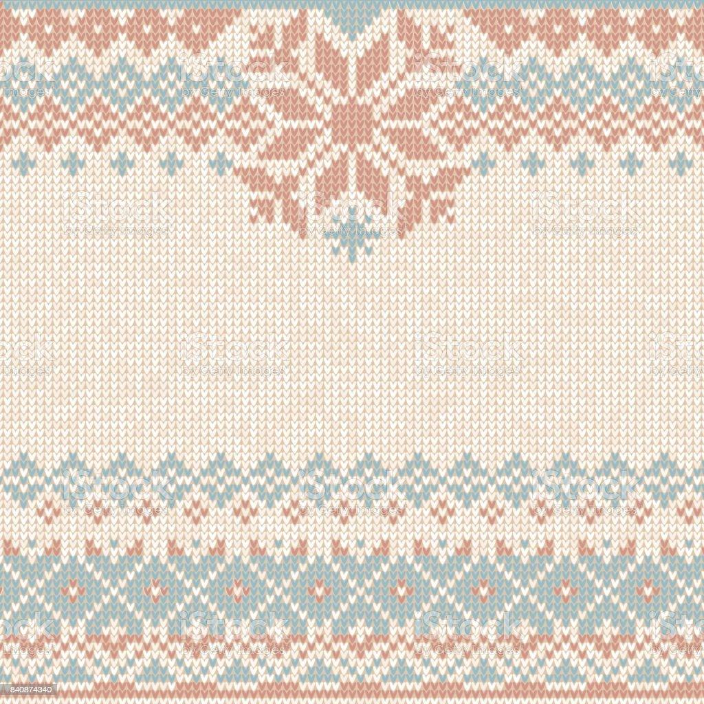 Invierno Navidad Navidad Del Knit Del Patrón De Punto De Fondo ...