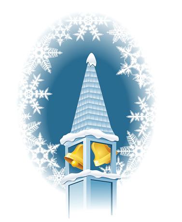 Winter church bells