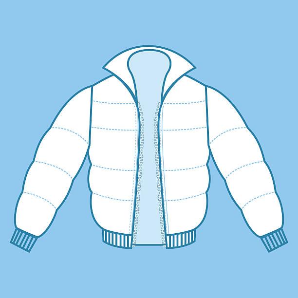 winter coat-fashion-flachbildfernseher - parkas stock-grafiken, -clipart, -cartoons und -symbole
