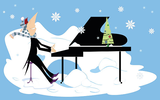 royalty free winter blues clip art vector images illustrations