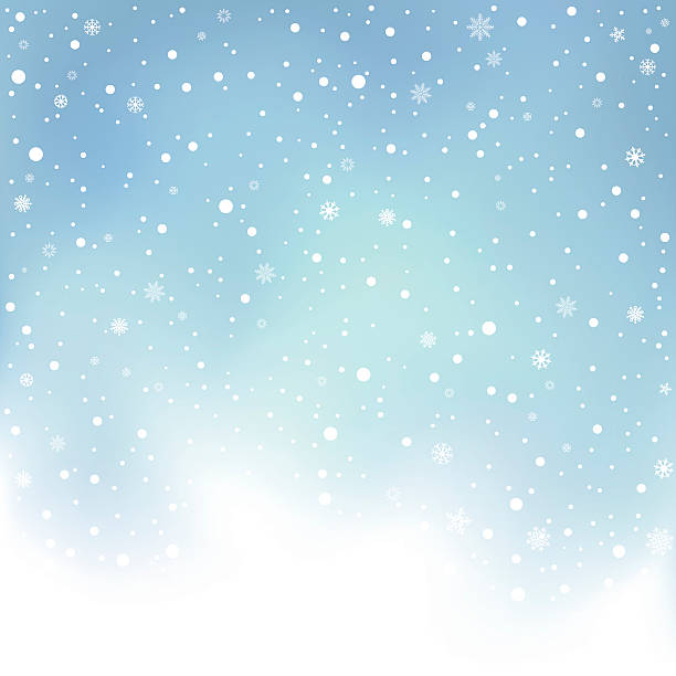Royalty Free Snow Storm Clip Art, Vector Images ...