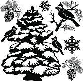 winter design elements