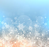 Winter elegant background