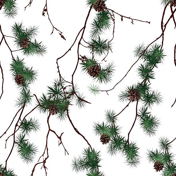 winter forest weihnachten nahtlose vektor-muster - dompfaff stock-grafiken, -clipart, -cartoons und -symbole