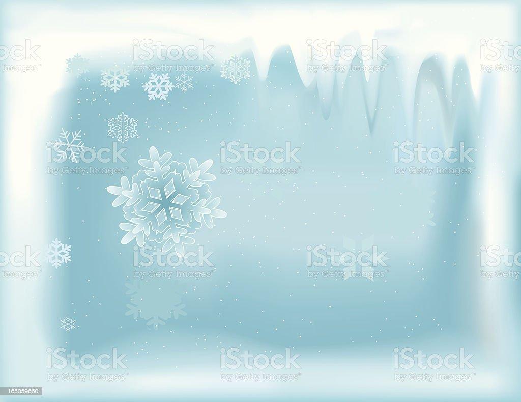 Winter Frame royalty-free stock vector art