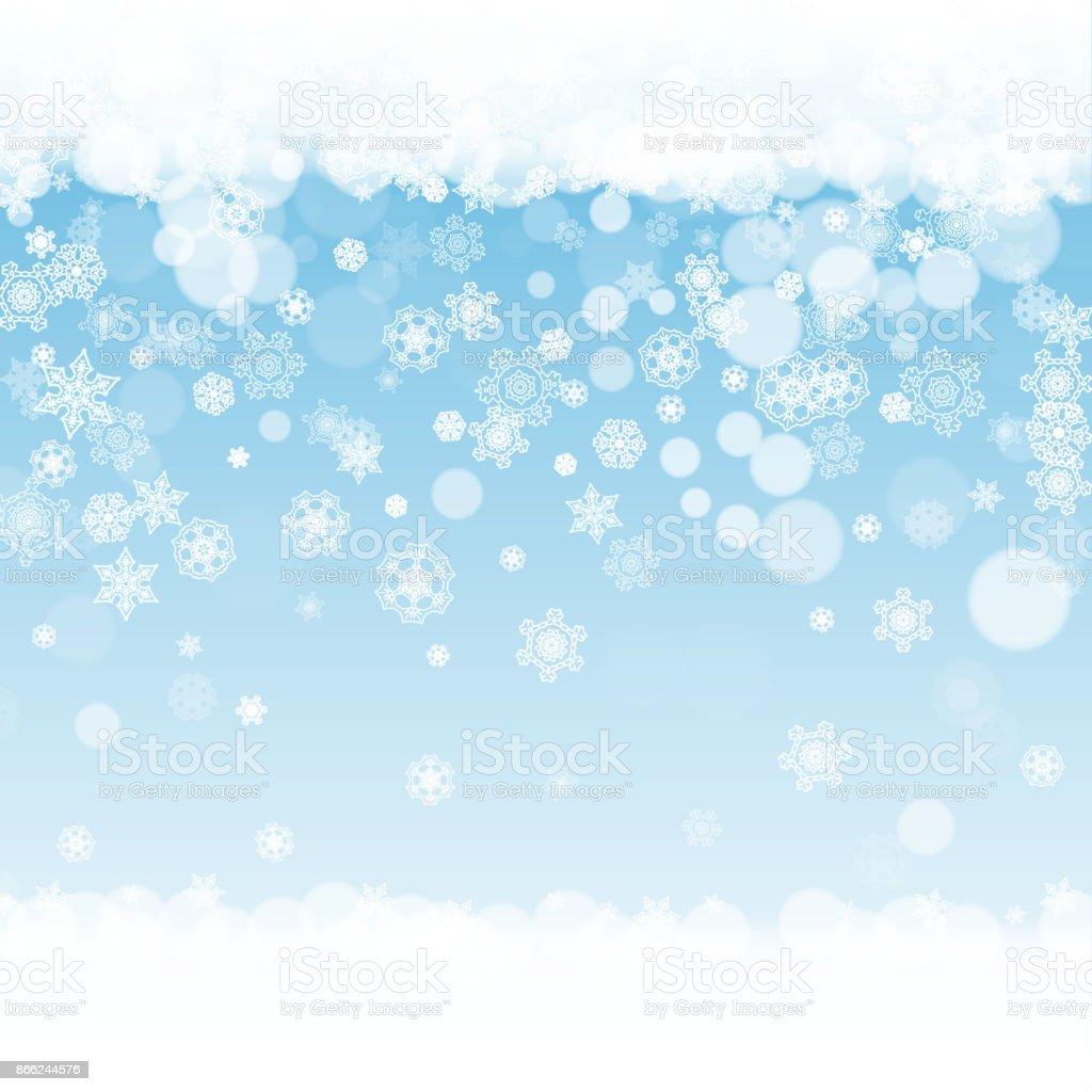 白い雪の結晶冬フレーム 2018年のベクターアート素材や画像を多数ご