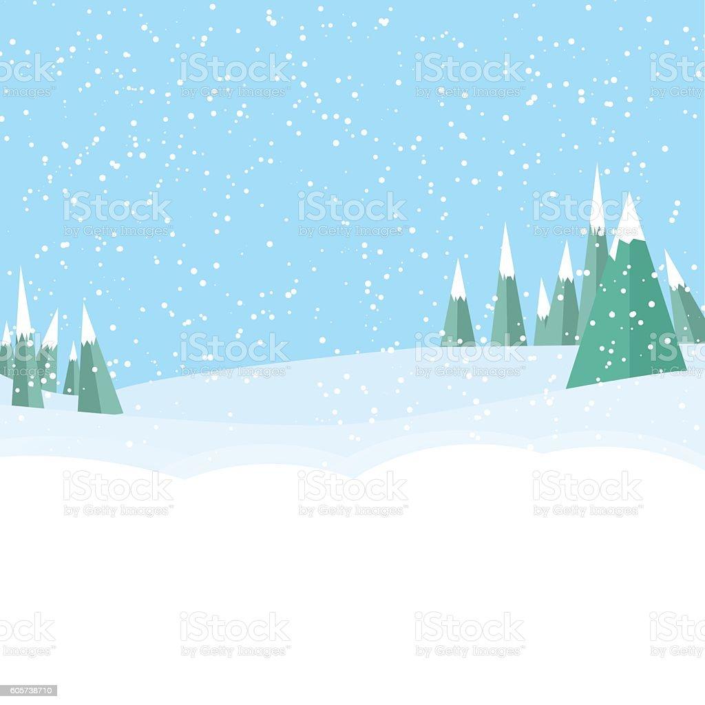 winter game landckape background stock vector art more. Black Bedroom Furniture Sets. Home Design Ideas