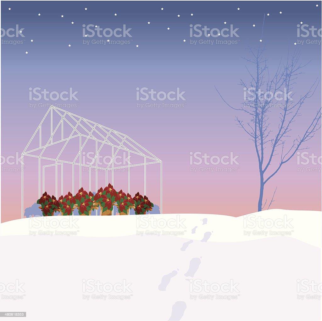 Winter Gewachshaus C Stock Vektor Art Und Mehr Bilder Von 2010