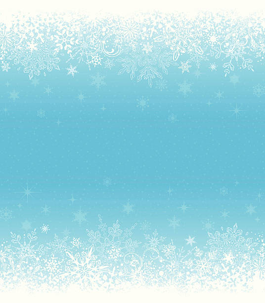 Winter Grunge Background vector art illustration
