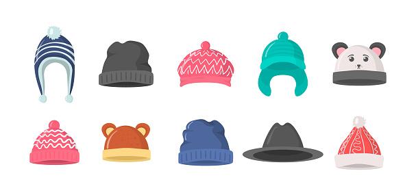 Winter hat, cap.