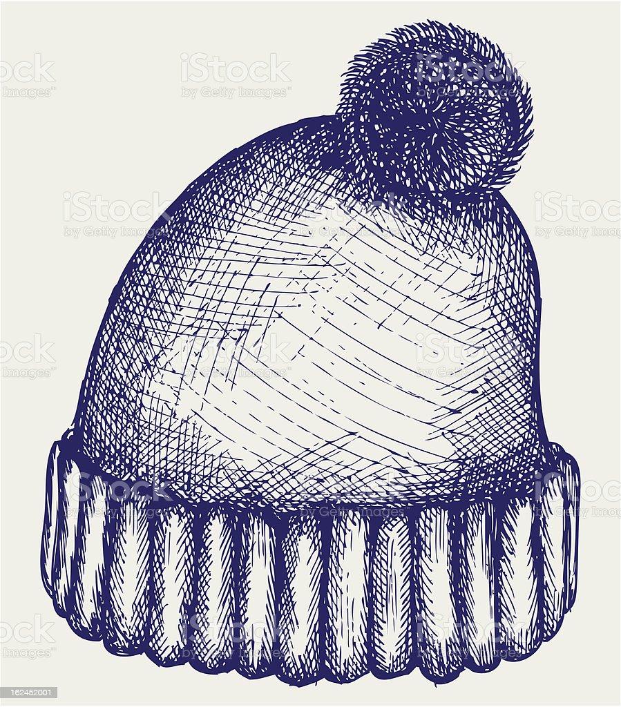Ilustración de Gorro De Invierno y más banco de imágenes de Gorra ...