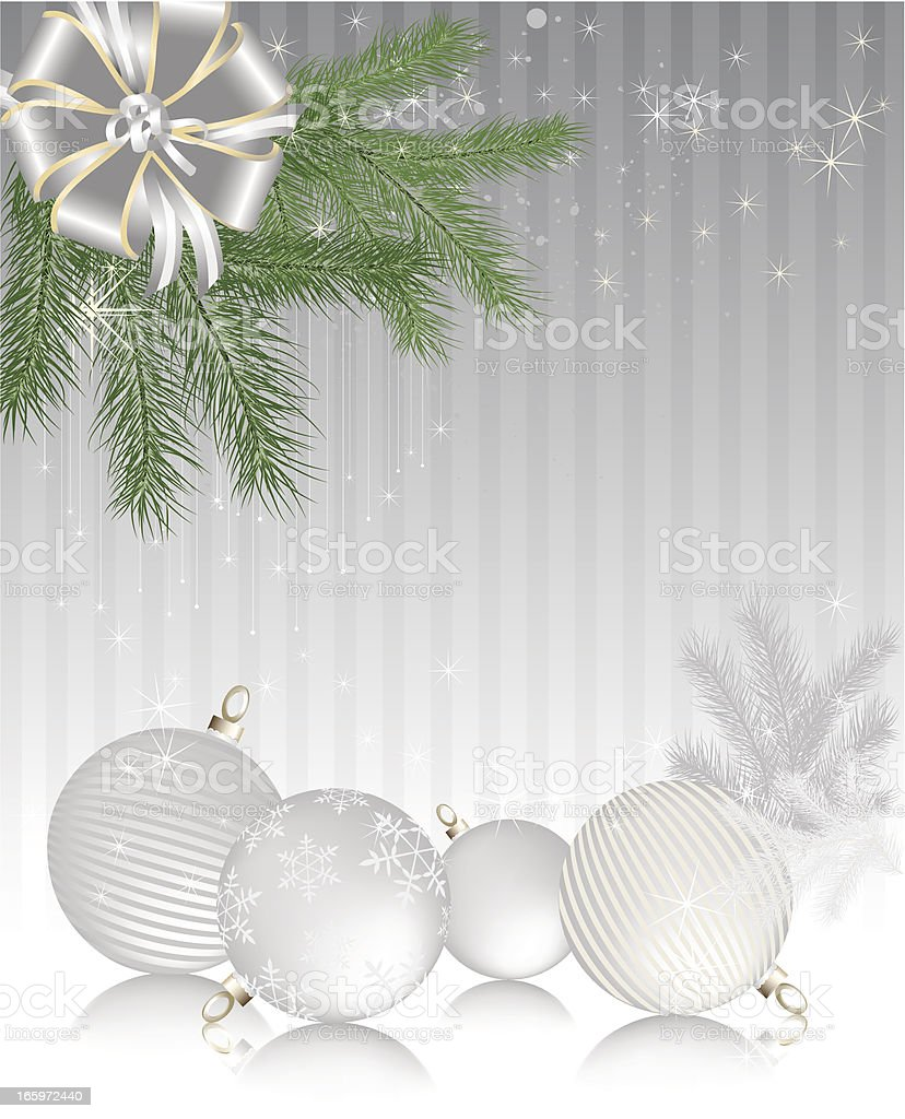 Winter Holiday Background - Vertical royalty-free stock vector art