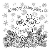 New Years Coloring Pages | Free download best New Years ...
