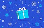 istock Winter Holiday Gift 1283513046