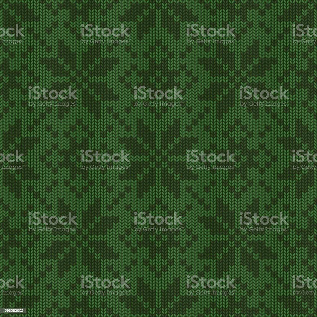 Winter Holiday knitted seamless pattern – Vektorgrafik