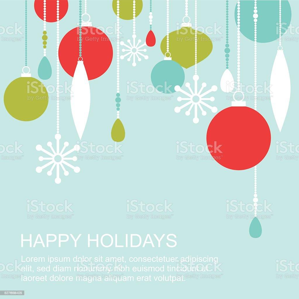 Winter holidays greetings card stock vector art more images of winter holidays greetings card royalty free winter holidays greetings card stock vector art amp m4hsunfo