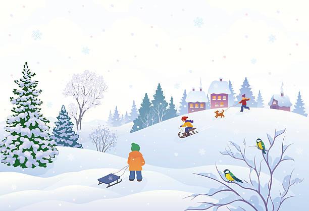 冬のお子様 - 冬点のイラスト素材/クリップアート素材/マンガ素材/アイコン素材