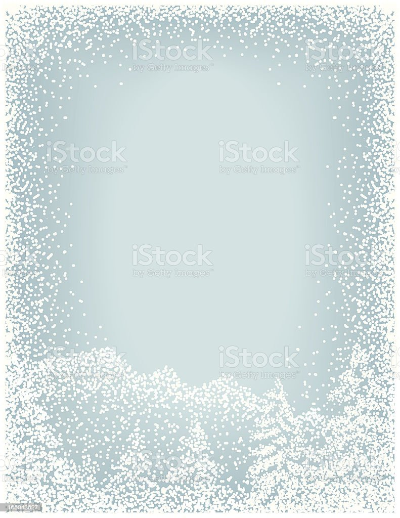 winter landscape background royalty-free stock vector art