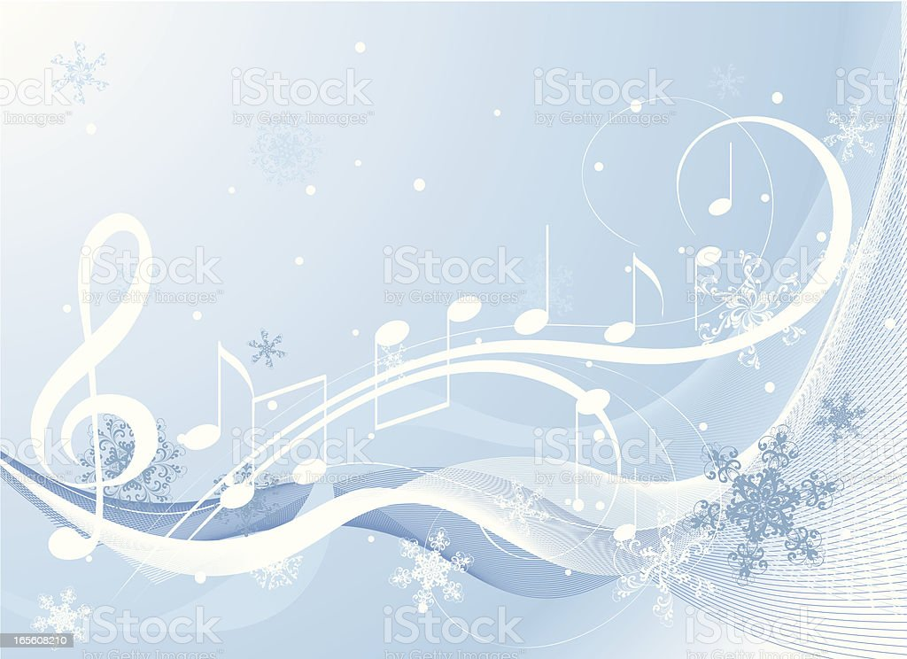 Winter music stock vector art more images of abstract 165608210 winter music royalty free winter music stock vector art amp more images of abstract voltagebd Images