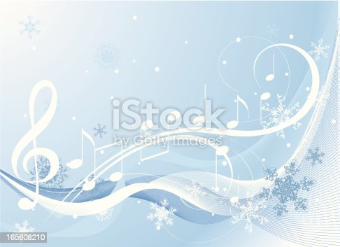 winter music stock vector art more images of abstract. Black Bedroom Furniture Sets. Home Design Ideas