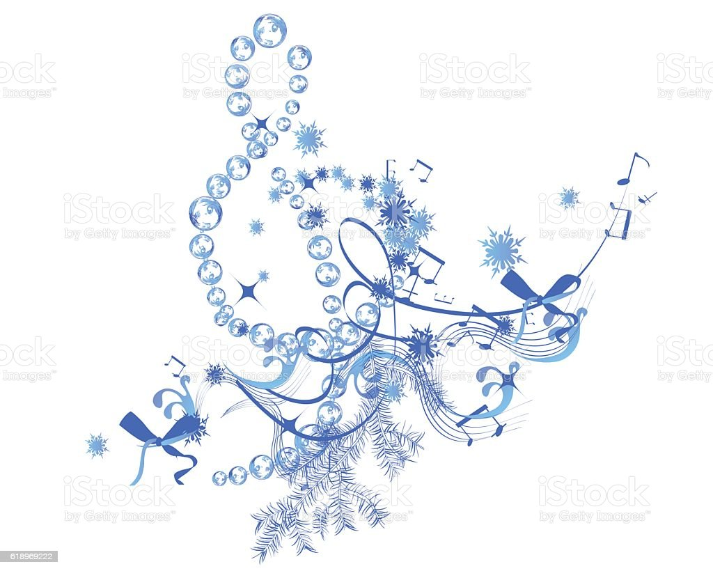 Winter music stock vector art more images of arts culture and winter music royalty free winter music stock vector art amp more images of voltagebd Images