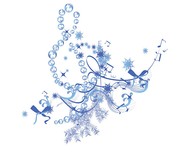 Royalty Free Winter Music Clip Art, Vector Images ...
